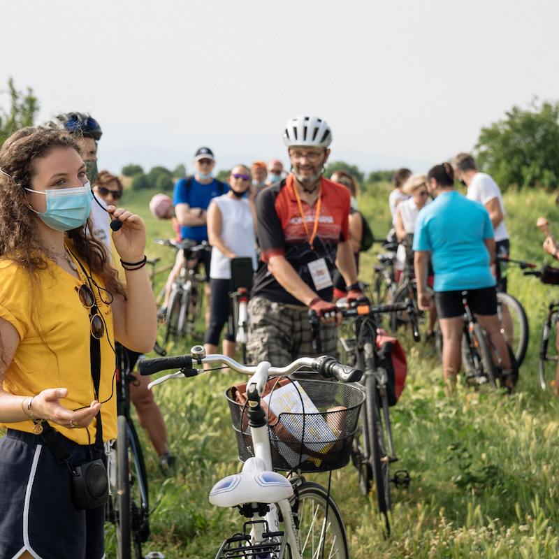 itinerari a piedi e in bici